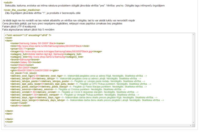 Izveidošu XML skriptu salidzini.lv interneta veikalam uz WordPress, slide number3
